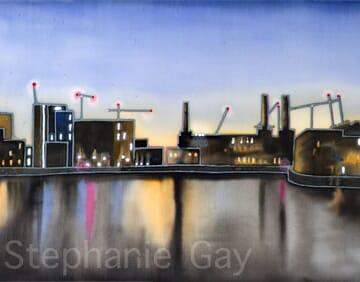 Battersea Power Station by Night