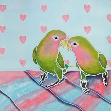 Valentine's Lovebirds