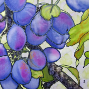 The Twelve Months of Christmas – Day 8 August's Plum Blues
