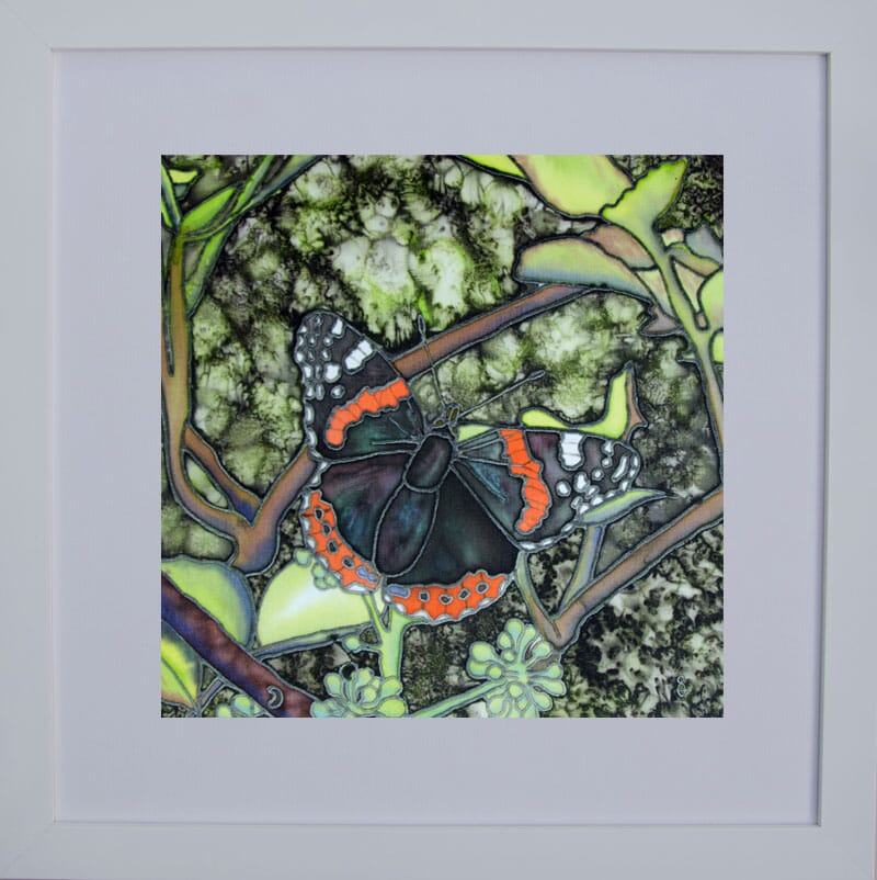 June's-Red-Admiral-Framed-for-Web