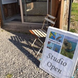 Stephanie Gay Studio at Somerset Flower Farm Exterior