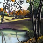East Across the Lake - Commission a Painting